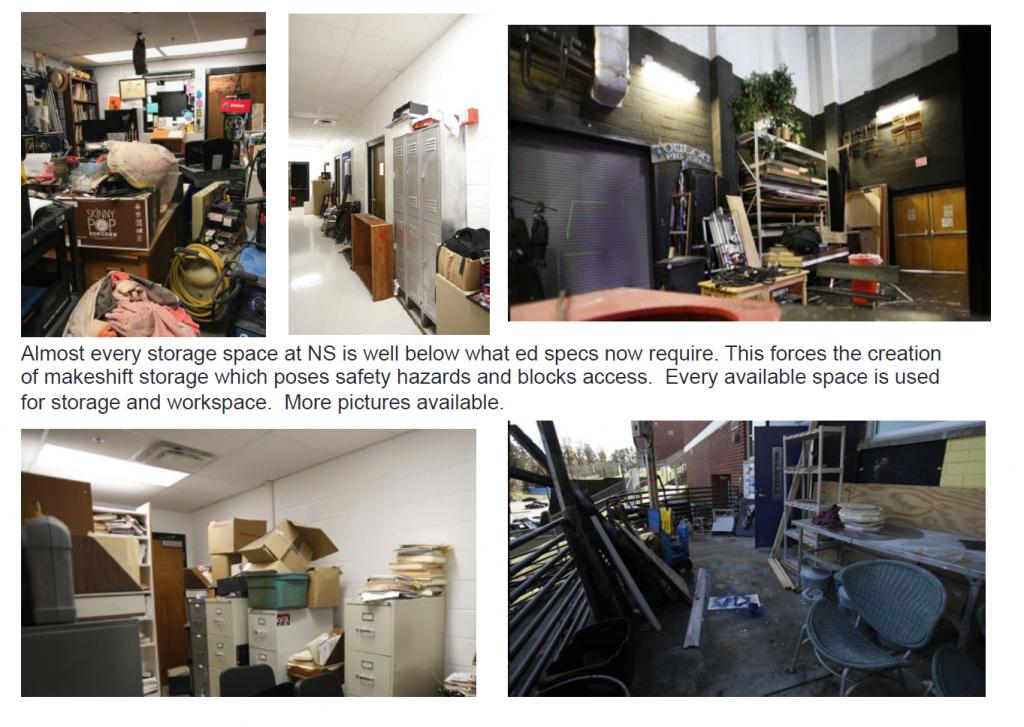 crowded storage NSHS